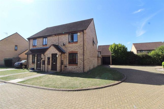 Thumbnail 3 bed semi-detached house for sale in Matilda Gardens, Shenley Church End, Milton Keynes
