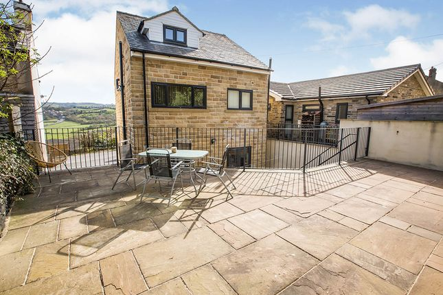 Thumbnail Detached house for sale in Briscoe Lane, Greetland, Halifax, West Yorkshire
