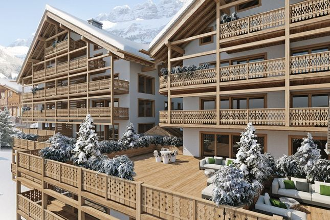 Exterior CGI of Rue Du Village 13, 1874 Champéry, Switzerland, Martigny (District), Valais, Switzerland