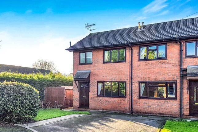 Thumbnail Semi-detached house to rent in Wallfields Close, Nantwich