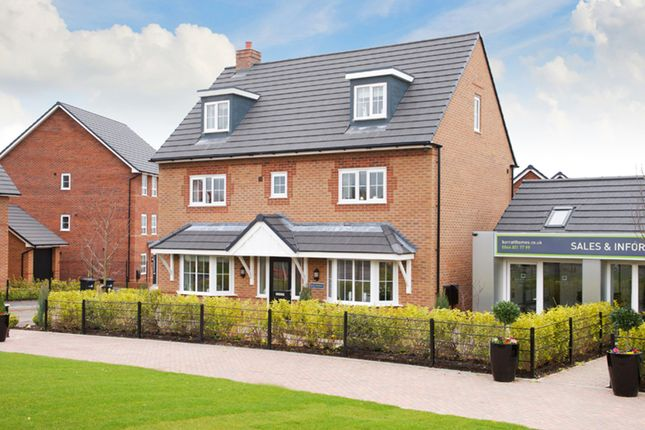 "Thumbnail Detached house for sale in ""Warwick"" at Blackpool Road, Kirkham, Preston"