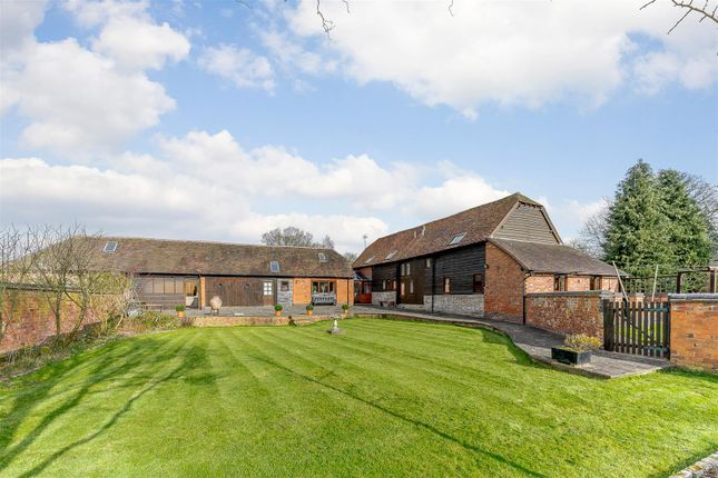 Thumbnail Barn conversion for sale in Evesham Road, Cookhill, Alcester, Warwickshire