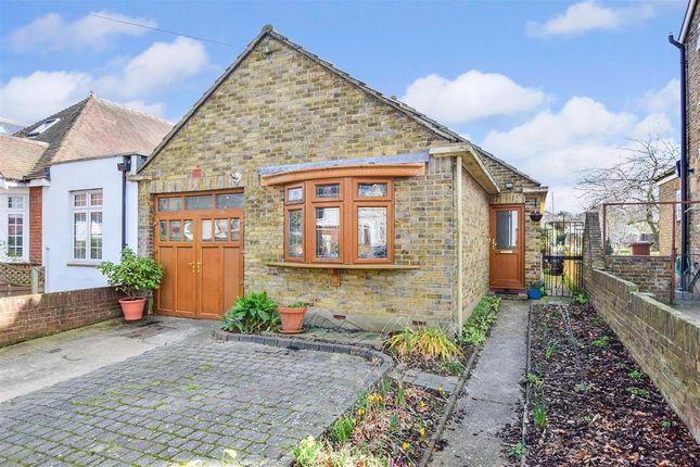 Thumbnail Detached bungalow for sale in Second Avenue, Gillingham, Kent