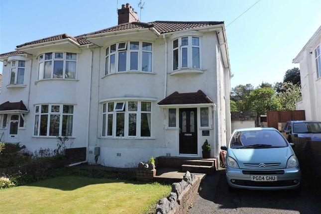 Thumbnail Semi-detached house for sale in Clasemont Road, Morriston, Swansea