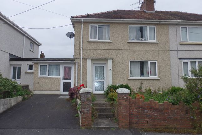 Thumbnail Semi-detached house to rent in Erw Terrace, Burry Port