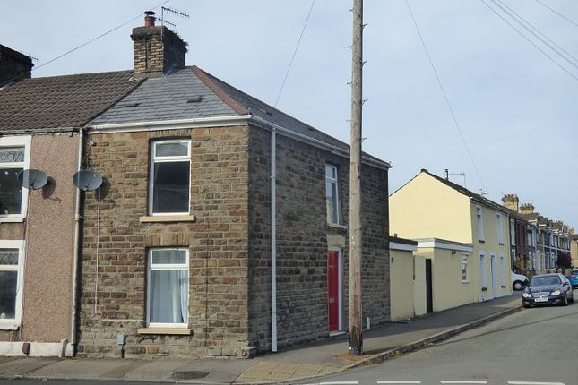 Thumbnail End terrace house to rent in Hunter Street, Briton Ferry, Neath .