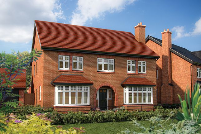 "Thumbnail Detached house for sale in ""The Oak"" at Warwick Road, Kenilworth"