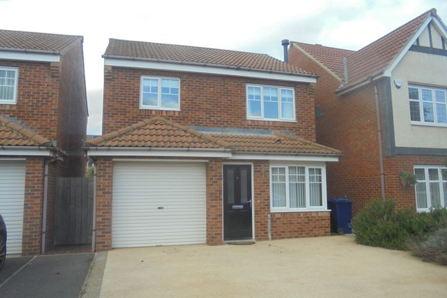 Thumbnail Detached house for sale in Whitstable Gardens, Redcar