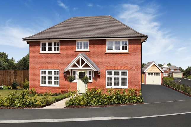 "Thumbnail Detached house for sale in ""Harrogate"" at Lonsdale Close, Great Sankey, Warrington"