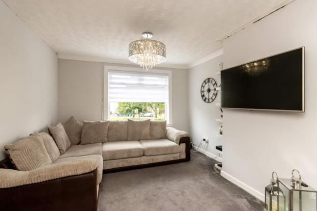Lounge of Egilsay Place, Milton, Glasgow G22