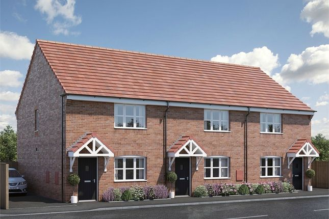3 bed town house for sale in The Paddox, Kibworth, Leicestershire LE8