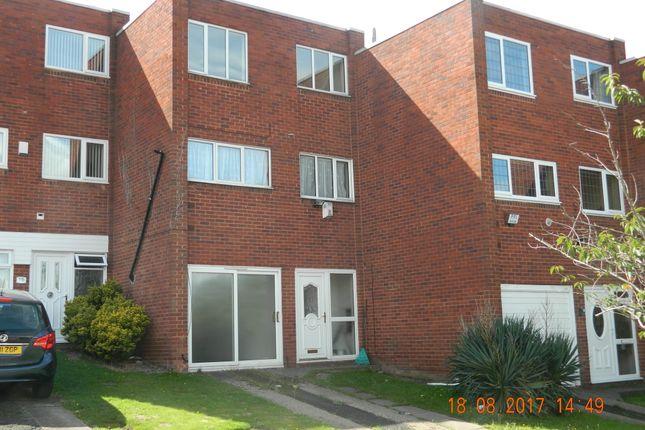 Thumbnail Town house to rent in Kempton Park Road, Bromford, Birmingham