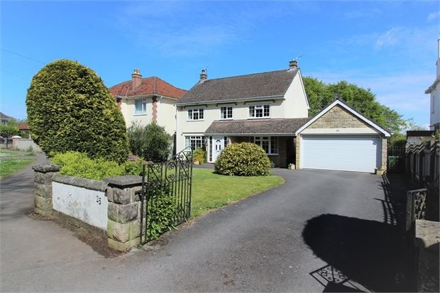 Thumbnail Detached house for sale in Worlebury Hill Road, Worlebury, Weston-Super-Mare, North Somerset.