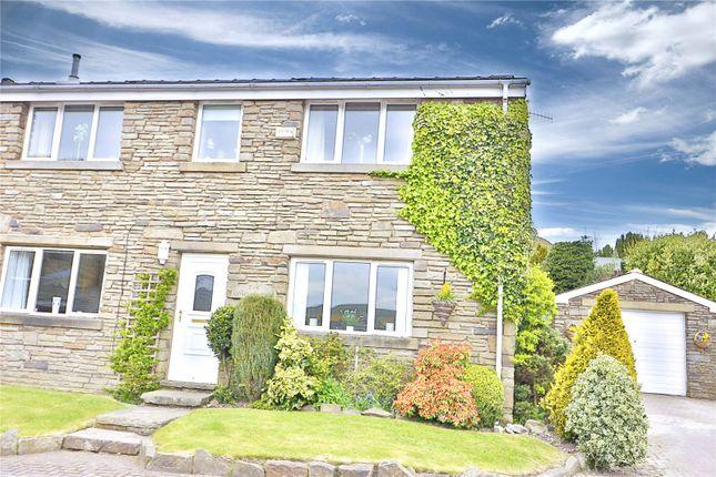 Thumbnail Semi-detached house for sale in Cowm Top Farm, High Barn Lane, Whitworth, Lancashire