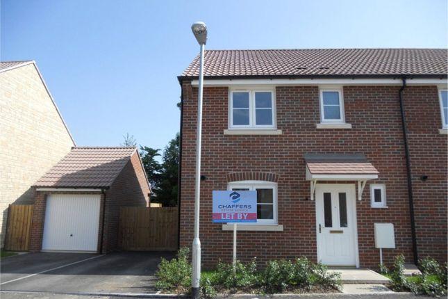 Thumbnail End terrace house to rent in Moon Pond Lane, Wincanton