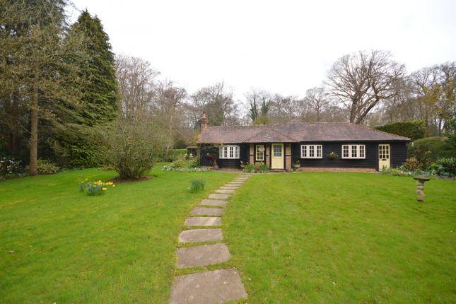 Thumbnail Detached bungalow to rent in Brick Kiln Common, Wisborough Green