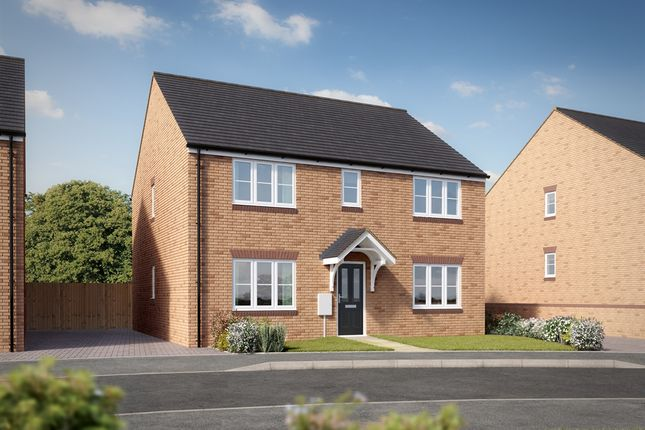 "Thumbnail Detached house for sale in ""The Hadleigh"" at King Street Lane, Winnersh, Wokingham"