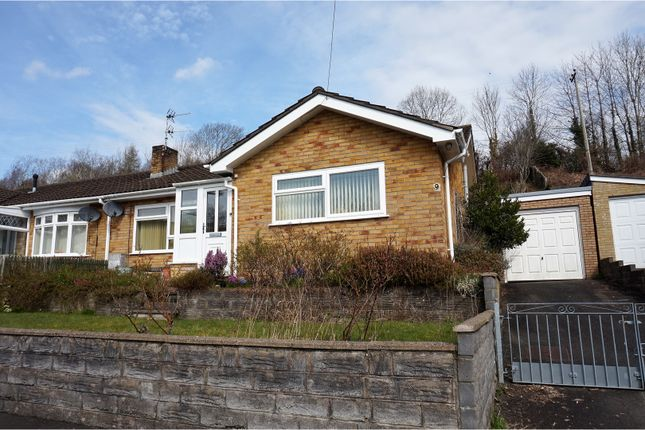 Thumbnail Semi-detached bungalow for sale in Springfield Drive, Mountain Ash