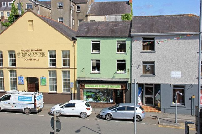 Thumbnail Commercial property to let in Blue Street, Carmarthen