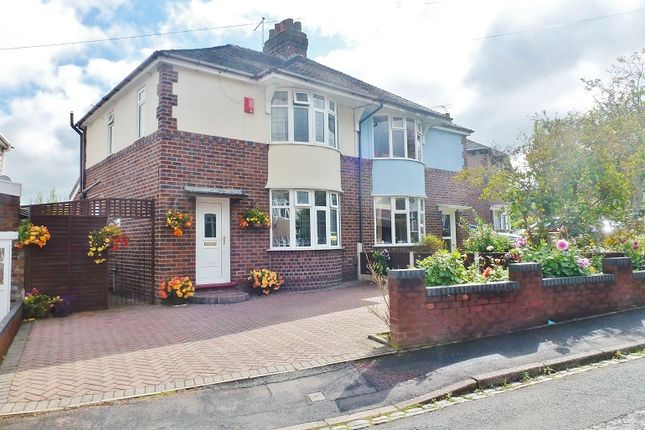 Thumbnail Semi-detached house for sale in Grove Avenue, Heron Cross, Stoke On Trent