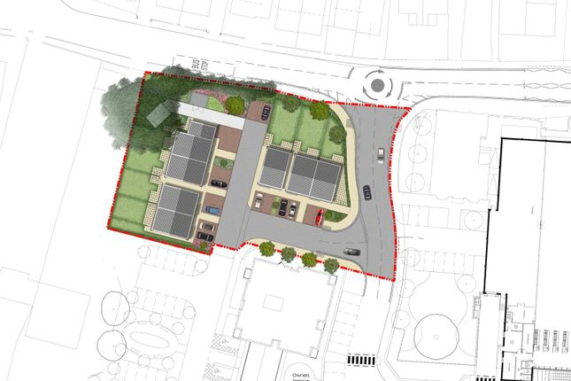 Site Plan of Field Close, Cottingham, East Riding Of Yorkshire HU16