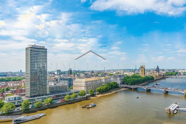 Thumbnail Flat for sale in The Corniche, 23 Albert Embankment, London