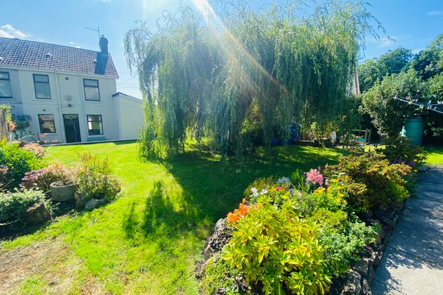 Thumbnail Semi-detached house for sale in Pwll Road, Llanelli