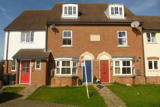 Thumbnail Terraced house for sale in Barley Way, Kingsnorth, Ashford