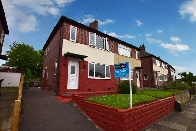Thumbnail Semi-detached house for sale in Parkwood Road, Leeds, West Yorkshire
