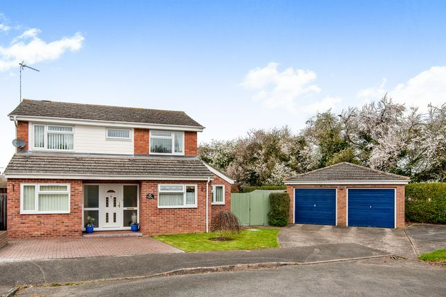 Thumbnail Detached house for sale in The Curlews, Bury St. Edmunds