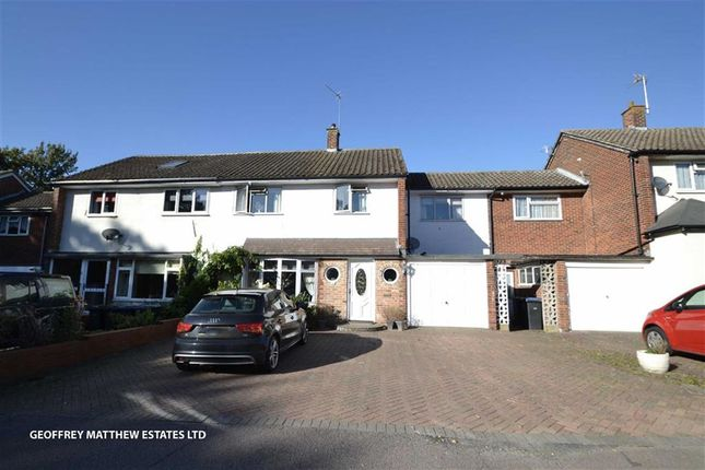 Thumbnail Semi-detached house for sale in Chapelfield, Harlow, Essex