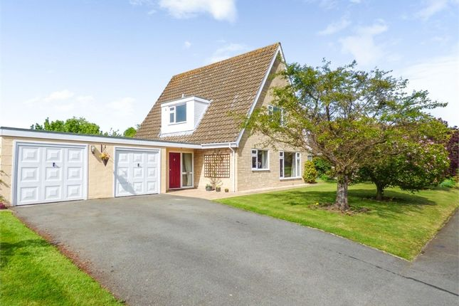Thumbnail Detached house for sale in Sunfield Park, Shrewsbury, Shropshire
