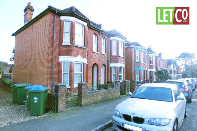 Thumbnail Semi-detached house to rent in Richville Road, Southampton