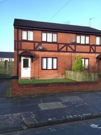 Thumbnail Semi-detached house to rent in Tallarn Road, Kirkby, Liverpool