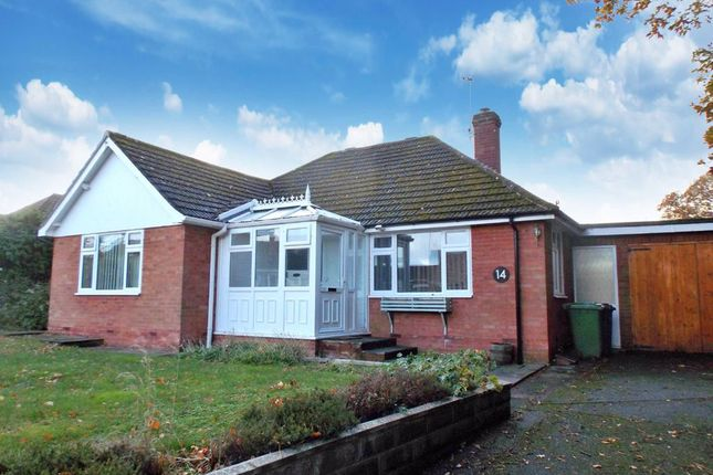 Thumbnail Detached bungalow to rent in Poplar Road, Clehonger, Hereford