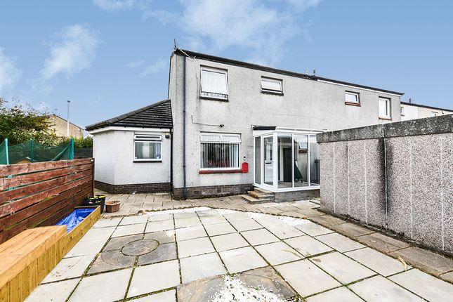 Thumbnail End terrace house for sale in Cedric Rise, Livingston, West Lothian