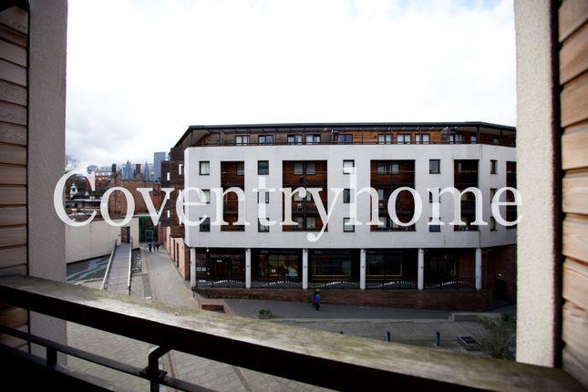 Balcony of Fairfax Street, Coventry CV1