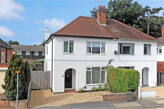 Thumbnail Semi-detached house for sale in Edward Avenue, Camberley