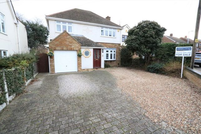 Thumbnail Detached house for sale in Woodward Close, Grays