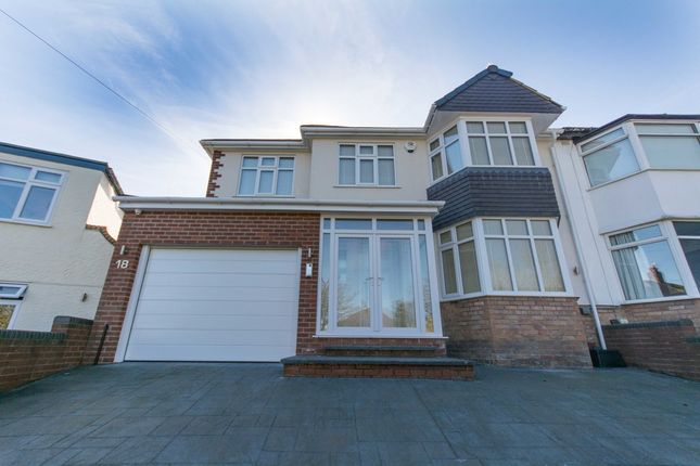 Thumbnail Semi-detached house for sale in Lynton Green, Woolton, Liverpool