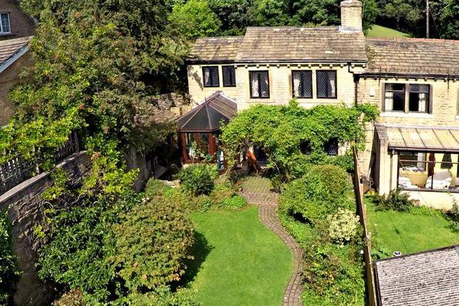 Thumbnail End terrace house for sale in Royles Head Lane, Longwood, Huddersfield