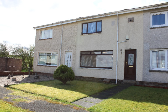 Thumbnail Terraced house to rent in Cairnsmore Drive, Stonehouse, South Lanarkshire, 3Jz