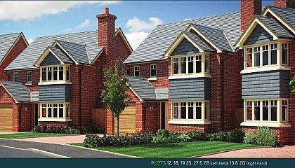 Thumbnail Detached house for sale in Plot 19 - The Eyton, (Left Hand) Perry View, Prescott, Baschurch, Shropshire