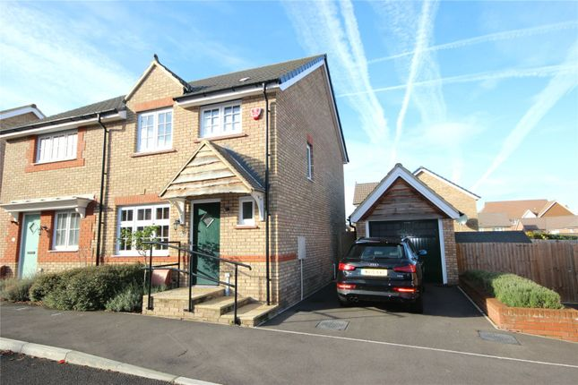 Thumbnail Semi-detached house to rent in Leader Street, Cheswick Village, Bristol