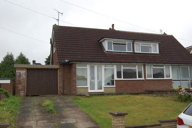 Thumbnail Semi-detached bungalow to rent in Wadhurst Avenue, Luton