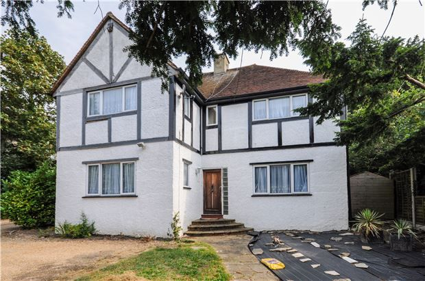 Thumbnail Detached house for sale in Russell Hill, Purley, Surrey