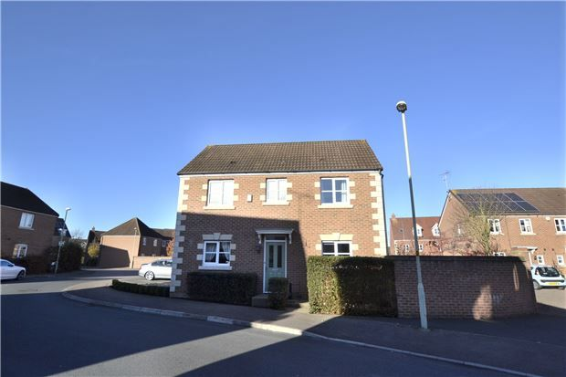 3 bed detached house for sale in Lyneham Drive, Quedgeley, Gloucester