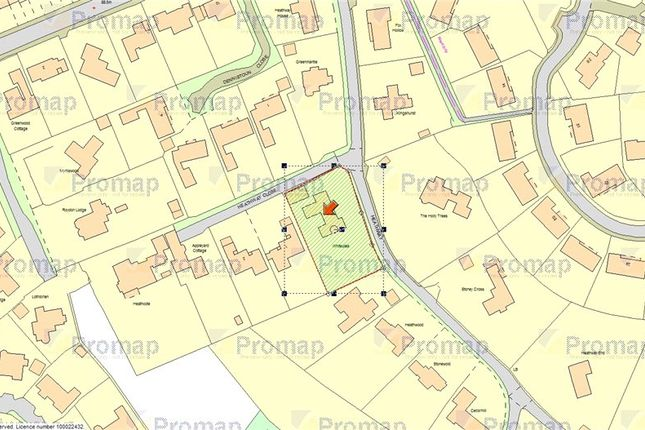 Plot Size of Heathway, Camberley, Surrey GU15