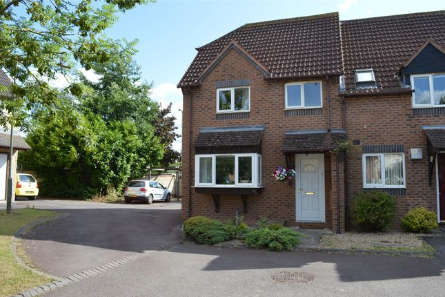Thumbnail End terrace house to rent in Little Acorns, Bishops Cleeve, Cheltenham