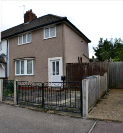 Thumbnail End terrace house to rent in Sutton Road, Barking
